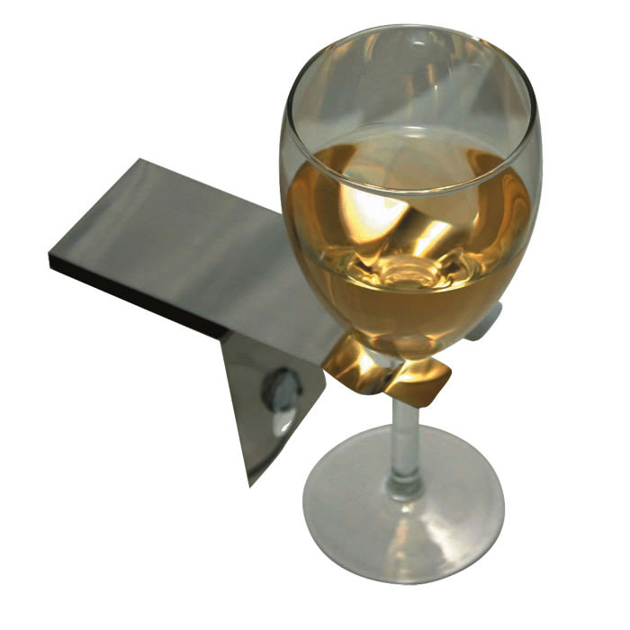 Bosign Suction Bath Wine Glass Holder Accessory